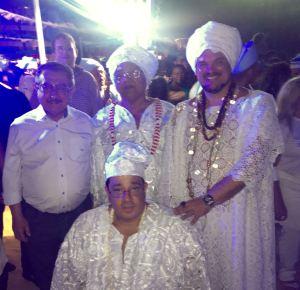 Políticos prestigiam festa de Iemanjá no Busto de Tamandaré; veja as fotos