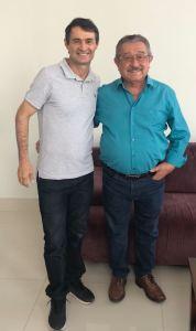 Após reafirmar pré-candidatura, Maranhão se encontra com Romero em CG
