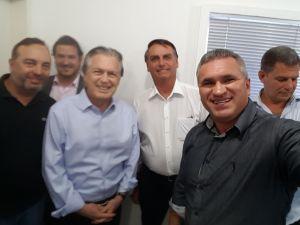 Paraibano será vice-presidente nacional do PSL após filiação de Bolsonaro