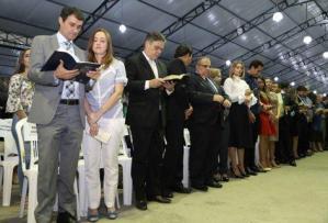 Lideranças políticas são homenageadas na abertura da 20ª Consciência Cristã