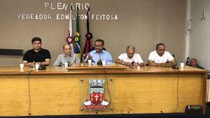 Em Cajazeiras, Maranhão revela desejo de Wellington Roberto em participar de chapa do MDB
