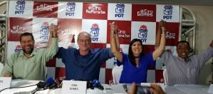 """Carlos Lupi manda recado para RC e diz que Lígia não renunciará: """"Foi eleita para concluir o mandato"""""""