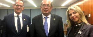 Marcos Vinicius confirma participação do ministro Gilmar Mendes em debate da CMJP