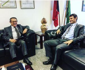 Pré-candidatos ao Governo da PB, Maranhão e Romero se reúnem em Brasília para tratar de aliança