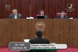TSE inicia julgamento que pede a cassação de Ricardo Coutinho; acompanhe ao vivo