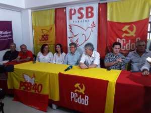 Azevedo comemora apoio do PCdoB, provoca Cartaxo e diz que gestão municipal não tem aprovação do povo