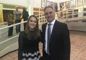 Lucélio prestigia evento em homenagem a Micheline Rodrigues e avança na composição da vice