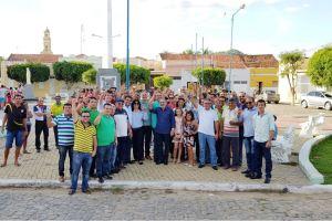 Em Itaporanga, Lucélio Cartaxo diz que Estado precisa gerar mais oportunidade de emprego e renda