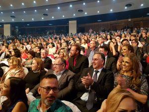 Lucélio Cartaxo prestigia premiação e se reúne com prefeitos e lideranças nesta sexta