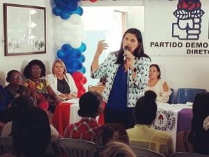 Ligia Feliciano se reúne com mulheres e recebe apoio para pré-candidatura ao Governo do Estado