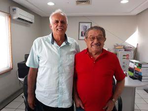 Prefeito e vice-prefeito de Santa Luzia reafirmam apoio a Maranhão e falam da força do senador na região