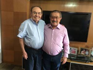 Maranhão se reúne com Ivandro Cunha Lima e tenta atrair apoio do Solidariedade