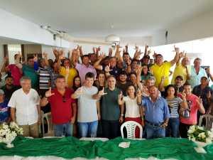Em Araçagi, ex-prefeita e lideranças da região declaram apoio a Lucélio Cartaxo e Ruy Carneiro