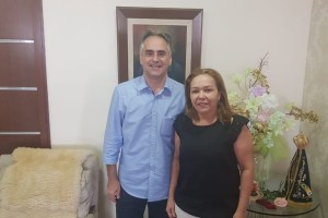 Em reunião com Lucélio, Eva Gouveia reforça apoio do PSD e confirma pré-candidatura à Câmara Federal