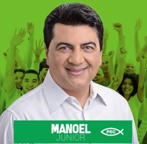 Presidente nacional do PSC vem a JP para lançamento oficial da pré-candidatura de Manoel Jr ao Senado
