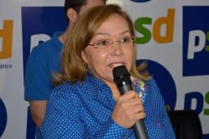 Em nota, Eva Gouveia anuncia desistência de disputa pela Câmara Federal