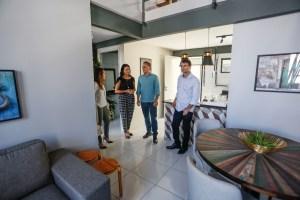 BOAS PARCERIAS: Luciano e Romero visitam obras da Villa Sanhauá e trocam experiências em João Pessoa