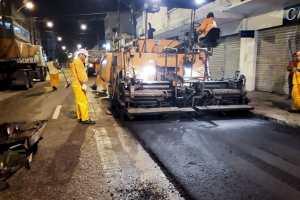 Seinfra inicia obras de recapeamento na Avenida B. Rohan
