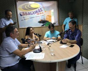 Em entrevista na Cabaceiras FM, Romero diz que apoio a Lucélio é incondicional