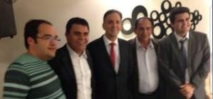 BASTIDORES: Wilson Santiago e Aguinaldo Ribeiro se reúnem para debater cenário eleitoral