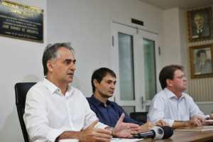 Lucélio defende diálogo e investimentos em segurança durante encontro com empresários de CG