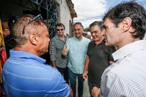 """""""Faço política com os pés no chão e ao lado da população"""", diz Lucélio em Campina"""