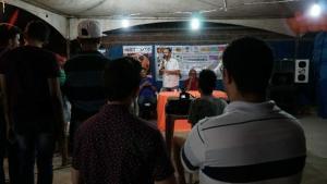 Tárcio debate democratização da comunicação em aniversário de rádio comunitária em JP