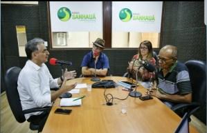 """""""Queremos que o paraibano e a paraibana voltem a viver com paz e tranquilidade"""", disse Lucélio em entrevista"""