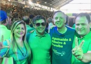 Deputado Aguinaldo Ribeiro une adversários políticos no Vale do Mamanguape