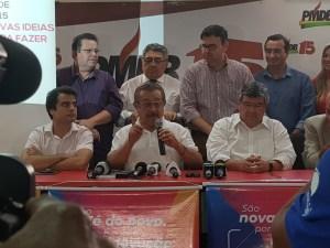 """Em coletiva, Maranhão critica adversários e reafirma candidatura: """"Só não serei candidato se me matarem"""""""