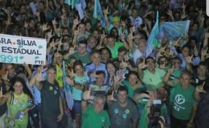 Campanha de Lucélio Cartaxo toma as ruas de Mangabeira na primeira Caminhada da Esperança