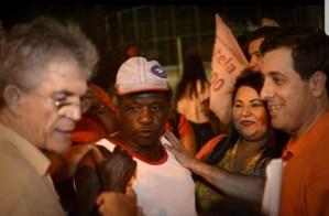 Em CG, Gervásio participa de caminhada ao lado de Ricardo, Haddad, João e inaugura comitê do PSB