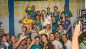 BORBOREMA: Camila recebe apoio de mais uma prefeita da região do Brejo