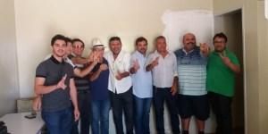 Deputado Galego Souza recebe apoio do prefeito, do ex-gestor e de mais cinco vereadores na cidade de Jericó