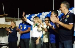 Aguinaldo Ribeiro é recebido calorosamente por Panta, Dra Jane e Gustavo Santos em Santa Rita