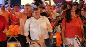 João e Lígia ressaltam união e Ricardo comemora presença da população na convenção do PSB
