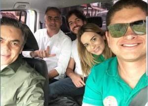 """""""Tudo bem com a gente"""", dizem Cássio e Daniela em vídeo após pouso de emergência"""