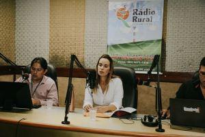 Em Guarabira, Daniella defende ampliação de maternidades na Paraíba
