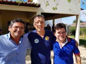 Ex-prefeito de São José do Bonfim e ex-deputado fecham apoio à reeleição de Aguinaldo Ribeiro