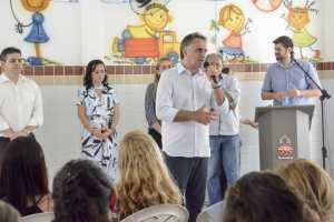 PMJP entrega novo padrão em escola de Tempo Integral no Bairro dos Ipês