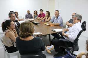 Professores e técnicos da UEPB apresentam a João propostas de parcerias para desenvolvimento da instituição