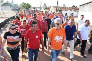 """Em Santa Rita: """"O caminho da Paraíba está traçado"""", diz Ricardo sobre eleição de João"""
