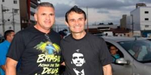 Romero comanda Adesivaço pró-Bolsonaro em CG e crê na ampliação da vantagem do presidenciável na cidade