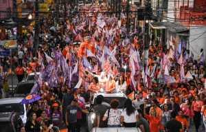 Caminhada das Mulheres: João e RC destacam força do voto feminino e Lígia garante atenção às mulheres