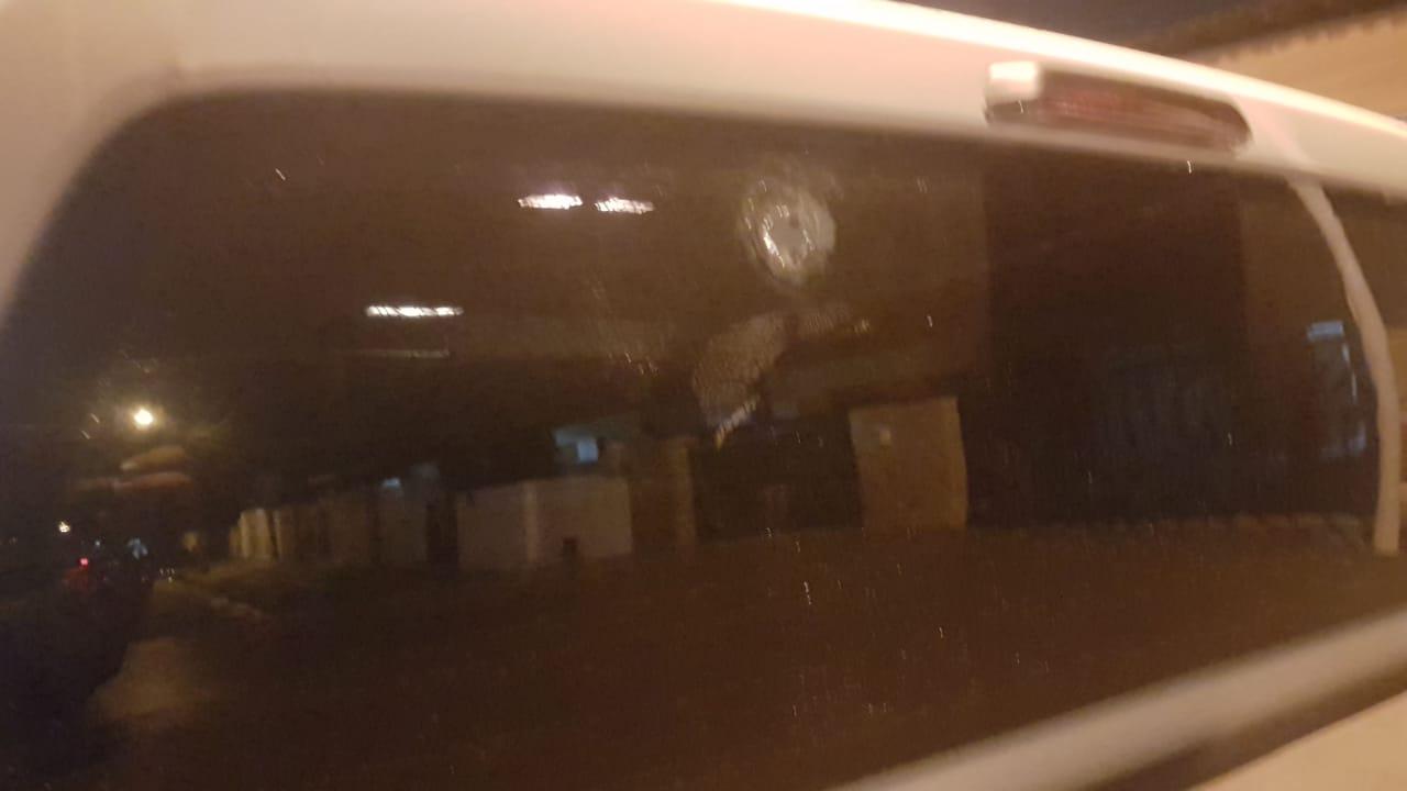 Exclusivo: Carro do secretário de Finanças de Bayeux é alvejado à bala; veja as fotos