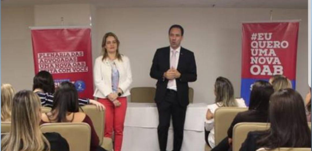 Advogada Renata Mangueira deixa chapa de Carlos Fábio e adere a Sheyner Asfóra