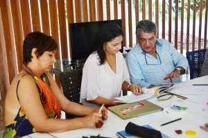 Maísa Cartaxo participa da Oficina Criativa do projeto Saberes e Sabores