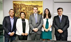 Prefeito de Santa Rita é recebido pelo Presidente do STF Ministro Dias Toffoli
