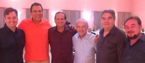 Ricardo Barbosa deixa divergências de lado e se veste de laranja na festa de confraternização do governador