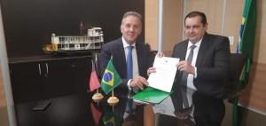 Ministro da Integração Nacional autoriza empenho para execução do projeto da Prefeitura de contenção da barreira do Cabo Branco